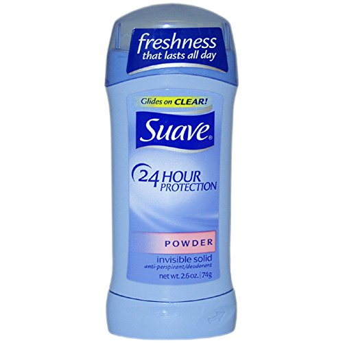 SUAVE DEO - Suave 24 Hour Protection Powder Invisible Solid Anti-Perspirant Deodorant Stick, 2.6 Ounce