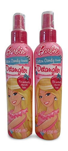 Barbie - Barbie Cotton Candy Scented Detangler 8 oz (2 Pack)
