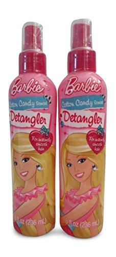 Barbie - Barbie Cotton Candy Scented Detangler 8 oz (2 Pack)