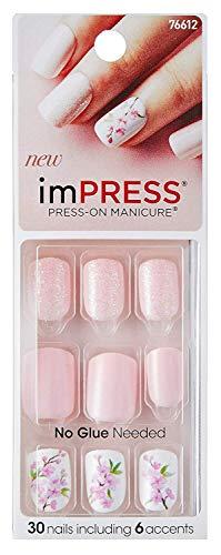 "Impress - KISS imPRESS""Lucky"" Short Length Press-On Manicure Nails"