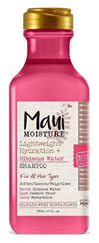 Maui Moisture - Maui Moisture Shampoo Hibiscus Water 13 Ounce (385ml) (6 Pack)