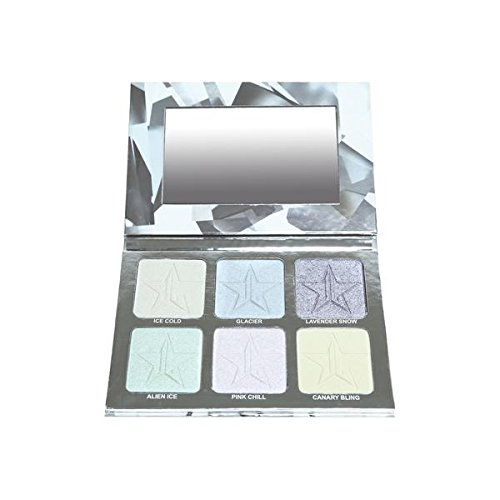 Jeffree Star Cosmetics - Jeffree Star Holiday Glitter Collection - Platinum Ice Skin Frost Pro Palette