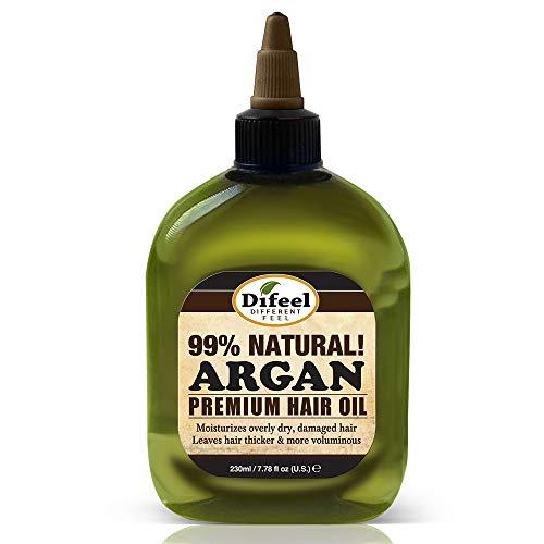 Sunflower-Difeel - Difeel Premium Natural Hair Oil -Argan Oil, Moisturizes Dry Hair & Smoothes Hair Follicles, Leaves Hair Thicker Softer & Silkier 8 oz.
