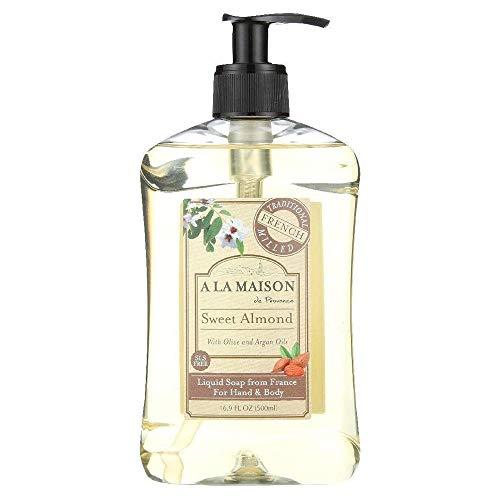A La Maison - A La Maison Liquid Soap, Sweet Almond, 16.89 Fluid Ounce