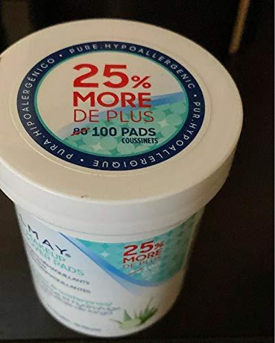 Almay - Almay Longwear and Waterproof Eye Makeup Remover Pads, 80 Count (Pack of 3)