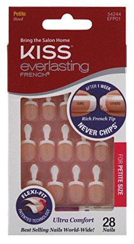 Kiss - Kiss Everlasting French Nail Kit Petite 28 Nails (6 Pack)