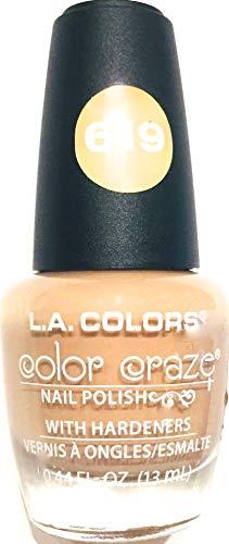 Color Craze - L.A.Colors Color Craze Nail Polish - Simply - 619