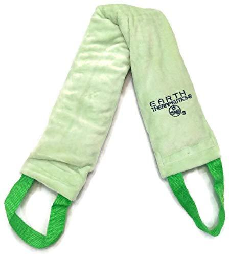 Earth Therapeutics - Earth Therapeutics Microwaveable Lavender and Chamomile Anti-Stress Comfort Wrap, Green, 1 Wrap