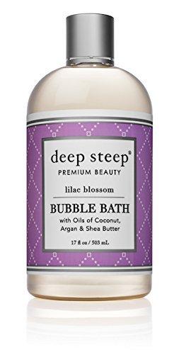Deep Steep - Deep Steep Bubble Bath, Lilac Blossom, 17 Ounce