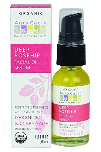 Aura Cacia - Deep Rosehip Facial Oil Serum