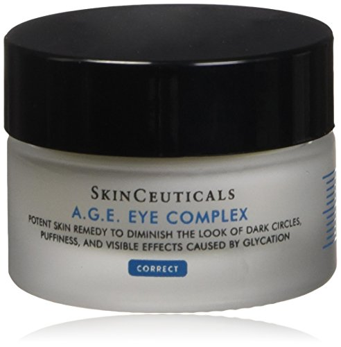 Skinceuticals - SkinCeuticals A.G.E. Eye Complex 0.5 oz Moisturizing Anti Aging Eye Cream with Vitamin E Helps Reduces Dark Circles, Puffiness and Crow's Feet