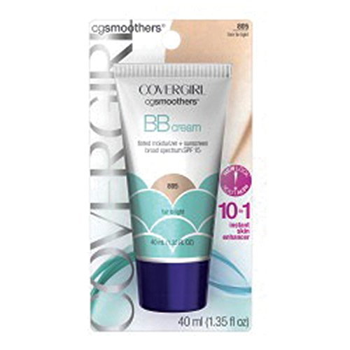 Covergirl - COVERGIRL Smoothers Lightweight BB Cream, Fair to Light 805, 1.35 oz (Packaging May Vary) Lightweight Hydrating 10-In-1 Skin Enhancer with SPF 15 UV Protection