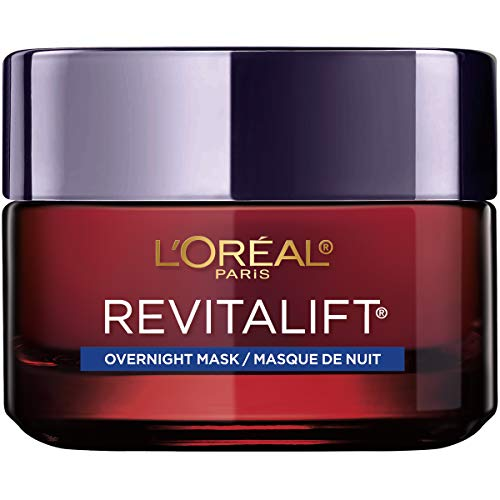 L'Oreal Paris - L'Oreal Paris Skincare Revitalift Triple Power Intensive Overnight Face Mask, Anti-Aging Overnight Face Mask with Hyaluronic Adic, Pro-Xylane and Centella Asiatica, 1.7 oz.