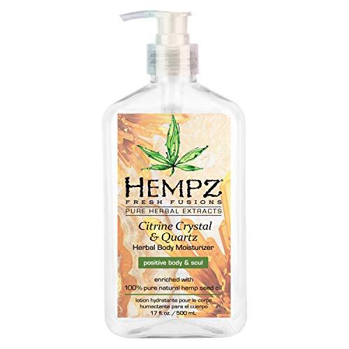 Hempz - HEMPZ Herbal Body Moisturizer Citrine Crystal & Quartz