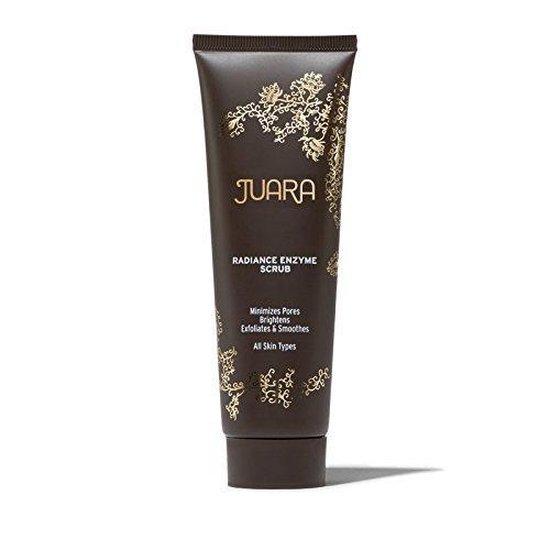 Juara - JUARA Radiance Enzyme Scrub – Facial Enzyme Scrub – Physical Exfoliant Enzyme Facial Scrub for All Skin Types – Enzyme Exfoliant for Face – Dermatologist Tested – 100% Vegetarian 2.5 oz. (73.9 mL)