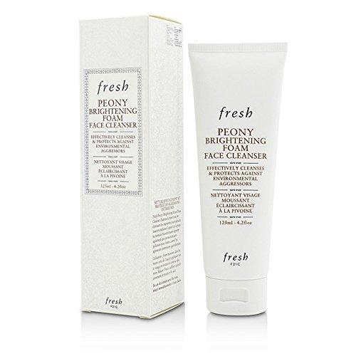 Fresh - Fresh Peony Brightening Foam Face Cleanser, 4.2 Ounce