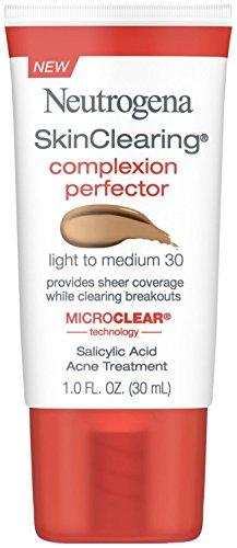 Neutrogena - Neutrogena Skinclearing Complexion Perfector With Salicylic Acid, Light - Medium, 1 Fl. Oz.