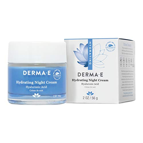 Derma E - Hydrating Night Cream with Hyaluronic Acid