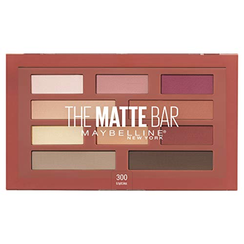 Maybelline - Maybelline New York The Matte Bar Eyeshadow Palette Makeup, 0.34 Ounce