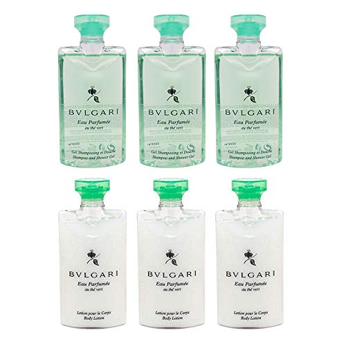 BVLGARI - Green Tea Shower Gel and Body Lotion