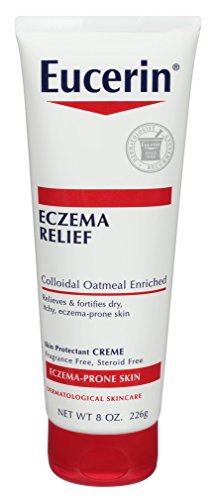 Eucerin - Eucerin Creme Eczema Relief 8 Ounce Tube (236ml) (6 Pack)