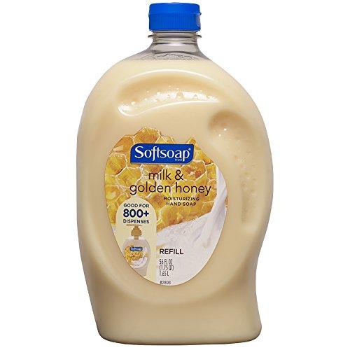 Softsoap - Softsoap Liquid Hand Soap Refill, Milk & Golden Honey - 56 fluid ounce (Packaging May Vary)