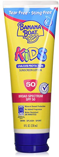 Banana Boat - Banana Boat Kids Tear Sunscreen Lotion SPF 50, 8 Ounce (Pack of 3)