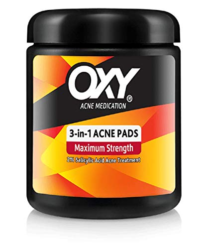 Oxy - OXY Maximum Action 3-In-1 Treatment Pads 90 ea (Pack of 6)
