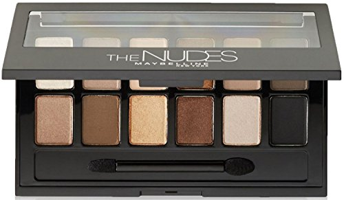 Maybelline - Maybelline New York The Nudes Eyeshadow Palette 0.34 oz (Pack of 3)
