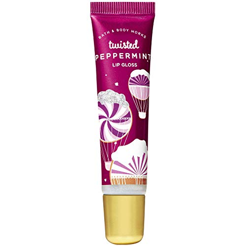 Bath & Body Works - Bath and Body Works TWISTED PEPPERMINT Lip Gloss 0.47 Fluid Ounce (2019 Edition)