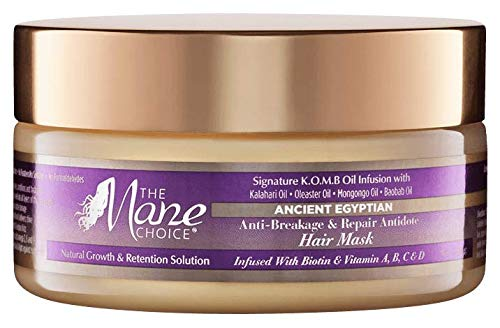 The mane choice - Ancient Egyptian Anti-Breakage & Repair Antidote Hair Mask