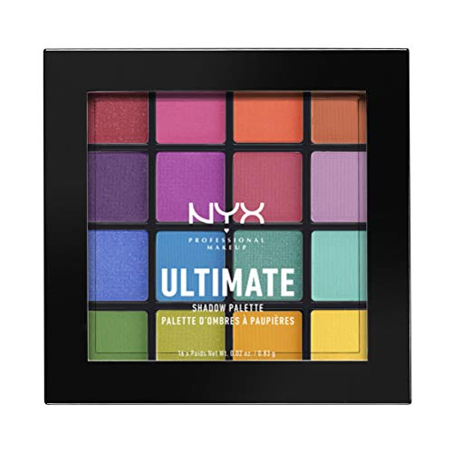 NYX - Ultimate Eyeshadow Palette, Brights