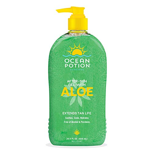 Ocean Potion - Ocean Potion Aloe Vera Gel 20.5oz Pump (6 Pack)