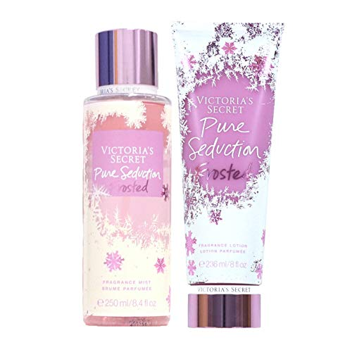 Victoria's Secret - Victoria's Secret Pure Seduction Frosted Body Mist and Fragrance Lotion Limited Edition Set