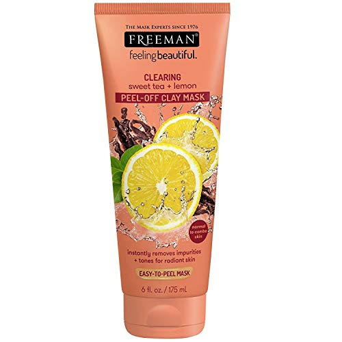 Freeman - Facial Mask Sweet Tea & Lemon Peel Away