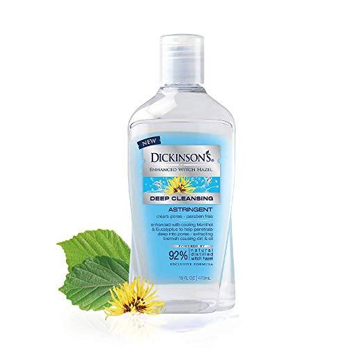 Dickinson's - Dickinson's Enhanced Witch Hazel Extra Strength Deep Cleansing Astringent, 16 Fluid Ounce
