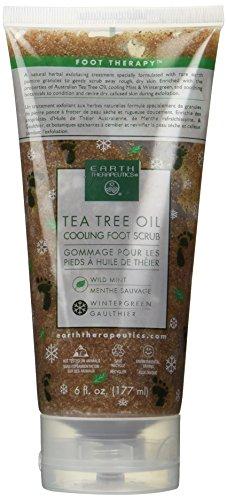 Earth Therapeutics - Tea Tree Oil Cooling Foot Scrub 6 fl. oz.