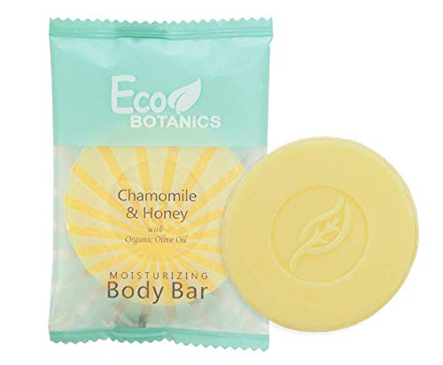 Eco Botanics - Eco Botanics Travel-Size Hotel Body Bar Soap, 25 grams (Case of 500)
