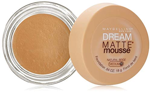 Maybelline - Dream Matte Mousse Foundation – Natural Beige (Medium 2.5)