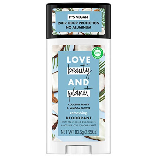 Love, Beauty & Planet - Deodorant, Coconut Water and Mimosa Flower