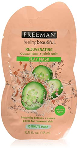 Freeman - Rejuvenating Cucumber + Pink Salt Clay Mask