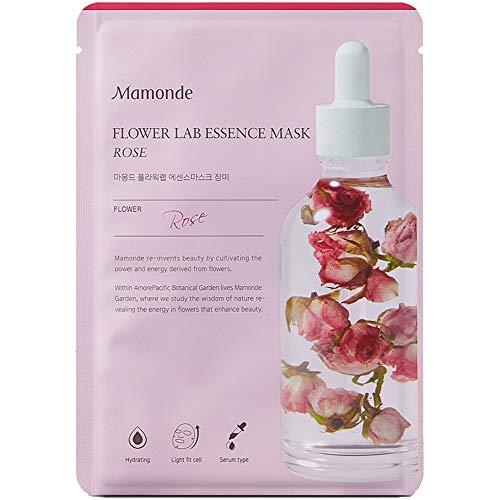 Mamonde - Mamonde Flower Lab Essence Mask 25ml x 5ea (# Rose)