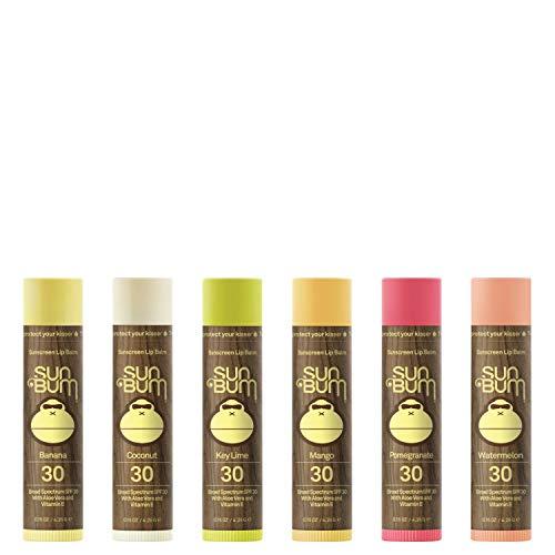 Sun Bum - Sun Bum SPF30 Lip Balm Assorted Fruit 6 Pack by Sun Bum