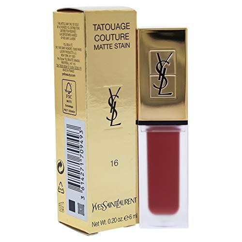 Yves Saint Laurent - Tatouage Couture Liquid Matte Lip Stain, Nude Emblem No.16