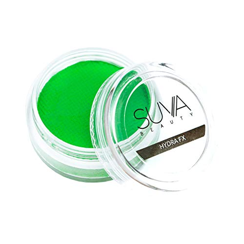 Suva Beauty Fanny Pack Hydra FX, Water-Activated Neon Green Body Paint Makeup