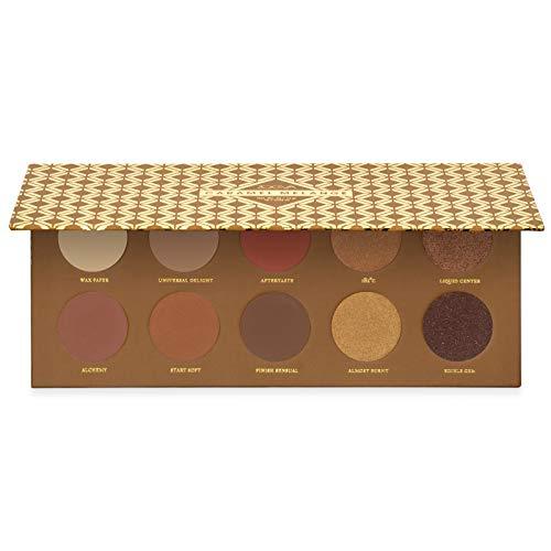 Zoeva - ZOEVA Caramel Melange Eyeshadow Palette - 10 Warm, Neutral & Modern Shades, Matte, Matte with Glitter & Metallic Finishes, Natural Eye Shadow Set, Suitable for All Eye Colors