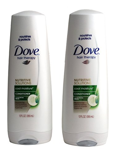 Kiss Usa - Dove Conditioner 12 Ounce Cool Moisture Nutritive Solutions (354ml) (3 Pack)