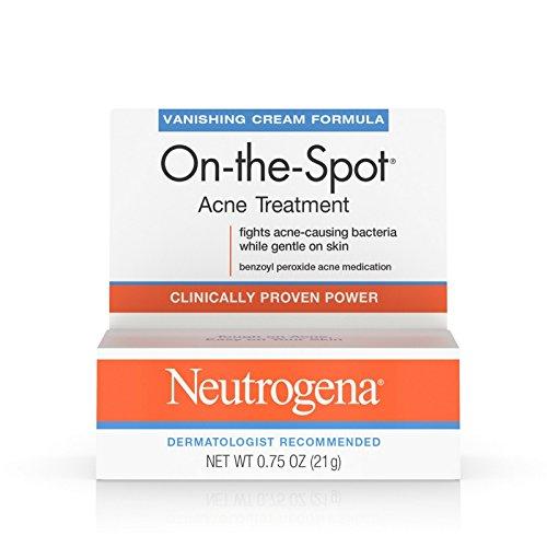 Neutrogena - Neutrogena On-The-Spot Acne Treatment Vanishing Cream Formula 0.75 oz