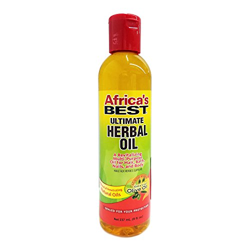 Africa's Best - Africa's Best Ultimate Herbal Oil, 8 Ounces (Pack of 3)