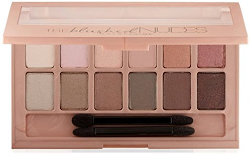 Maybelline - Maybelline New York Expert Wear Eyeshadow Palette, The Blushed Nudes 0.34 oz (Pack of 2)